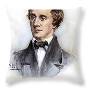 Henry David Thoreau Throw Pillow