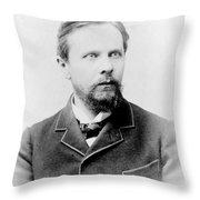Henry James, American-born British Throw Pillow
