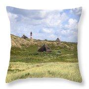 Hoernum - Sylt Throw Pillow