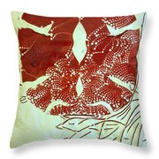 Holy Trinity  Throw Pillow by Gloria Ssali
