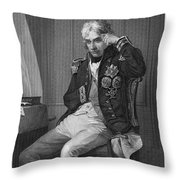Horatio Nelson (1758-1805) Throw Pillow