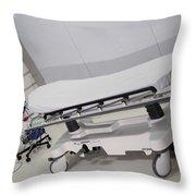 Hospital Gurney Throw Pillow