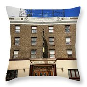 Hotel Yorba Throw Pillow