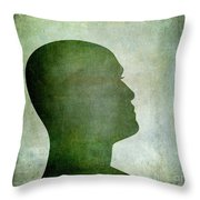 Human Representation Throw Pillow