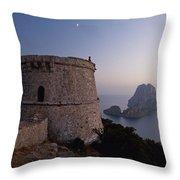 Ibiza, Spain Throw Pillow