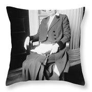 Ida M. Tarbell (1857-1944) Throw Pillow