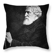 Ivan Turgenev (1818-1883) Throw Pillow