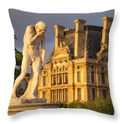 Jardin Des Tuileries Throw Pillow