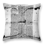Jefferson: Inauguration Throw Pillow