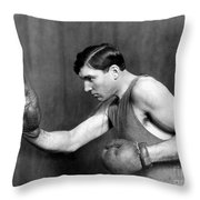 Jess Willard (1883-1968) Throw Pillow by Granger