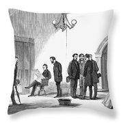Johnson Impeachment Trial Throw Pillow