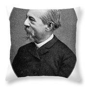Jos� Zorrilla Y Moral Throw Pillow by Granger
