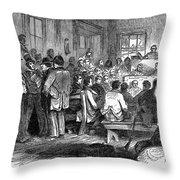 Kansas-nebraska Act, 1855 Throw Pillow
