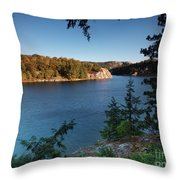 Killarney Provincial Park Throw Pillow