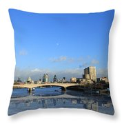 London  Skyline Throw Pillow