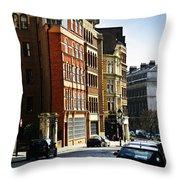 London Street Throw Pillow by Elena Elisseeva