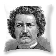 Louis Riel (1844-1885) Throw Pillow