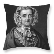 Mary Russell Mitford Throw Pillow