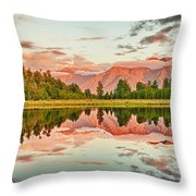 Matheson Lake Throw Pillow