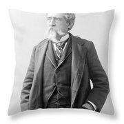 Mathew Brady, Father Of Photojournalism Throw Pillow