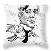 Maurice Maeterlinck Throw Pillow