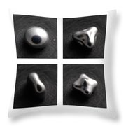 Mercury Under Harmonic Vibration Throw Pillow
