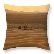 Merzouga, Morocco Throw Pillow