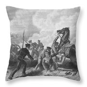 Mexican War: Palo Alto Throw Pillow by Granger