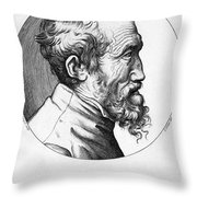 Michelangelo (1475-1564) Throw Pillow by Granger