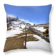 Monte Tamaro - Alpe Foppa - Ticino - Switzerland Throw Pillow by Joana Kruse