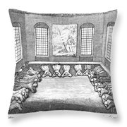 Moravians, 1757 Throw Pillow by Granger