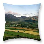 Mourne Mountains, Co. Down, Ireland Throw Pillow