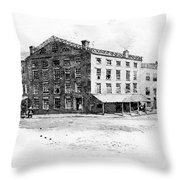 New York: Fraunces Tavern Throw Pillow