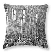 New York Stock Exchange Throw Pillow