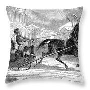 Nicholas I (1796-1855) Throw Pillow
