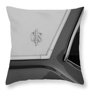 Olds C S In Black And White Throw Pillow