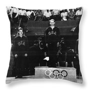 Olympic Games 1948 Throw Pillow