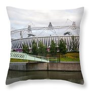 Olympic Park Throw Pillow