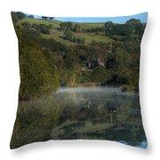 Parc Cwm Darran Throw Pillow