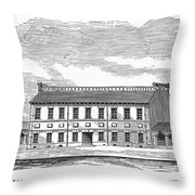 Philadelphia State House Throw Pillow