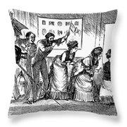Photography, 1876 Throw Pillow