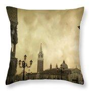 Piazetta. Venice Throw Pillow