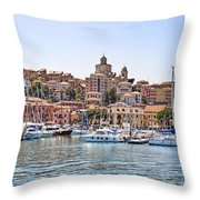 Porto Maurizio - Imperia Throw Pillow