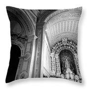Portuguese Church Throw Pillow