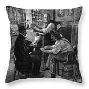 Presidential Campaign, 1884 Throw Pillow