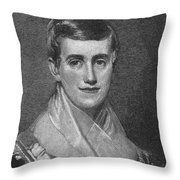 Prudence Crandall Throw Pillow