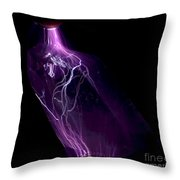 Quartz Crystal & Sparks Throw Pillow