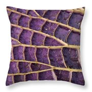 Queen Victoria Lily Throw Pillow