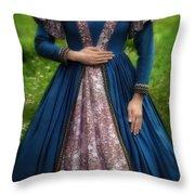 Renaissance Princess Throw Pillow by Joana Kruse
