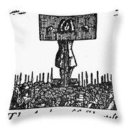 Richard Steele (1672-1729) Throw Pillow